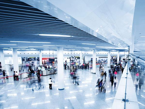 Terminal, stor sal