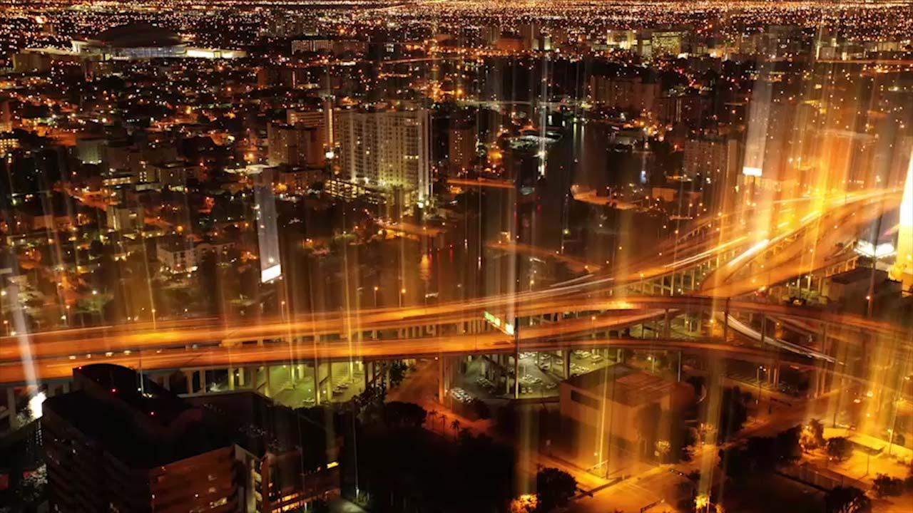 Stadskärna med Saps tjänster för fastighetsservice och infrastruktur